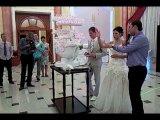 Самый шикарный свадебный торт...